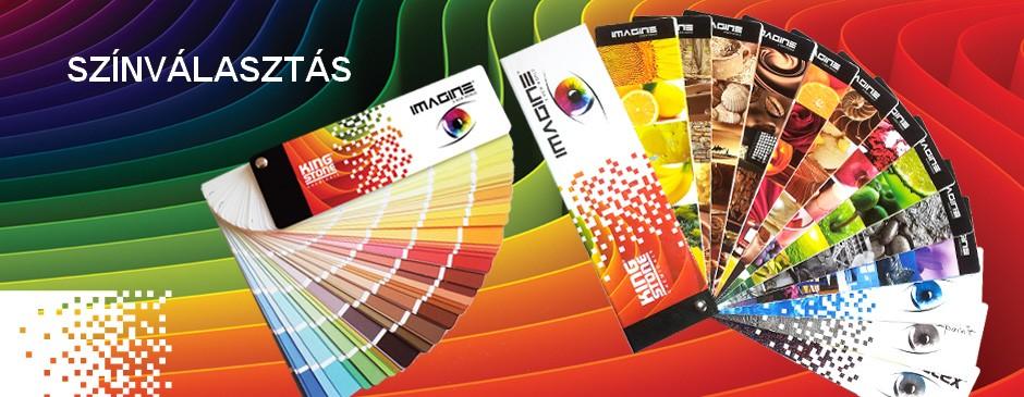 Kingstone homlokzati hőszigetelő rendszer színek
