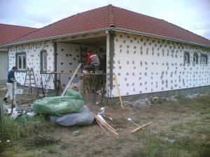 Grafitos vagy fehér polisztirol