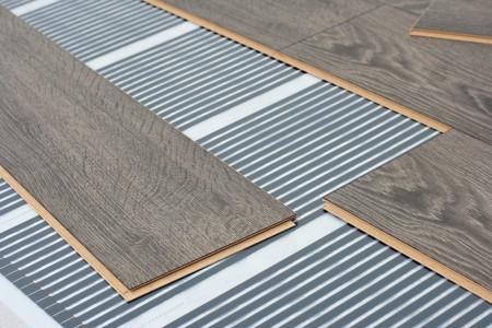 Infra fűtőfilm padlófűtés