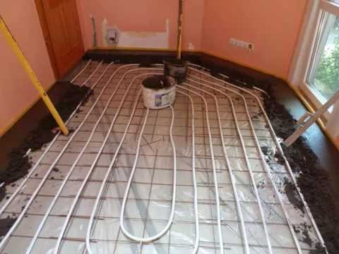Hagyományos padlófűtés