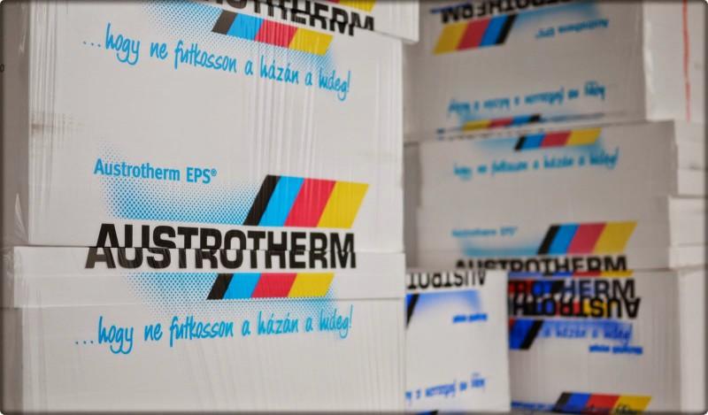 Austrotherm polisztirol homlokzati szigetelés